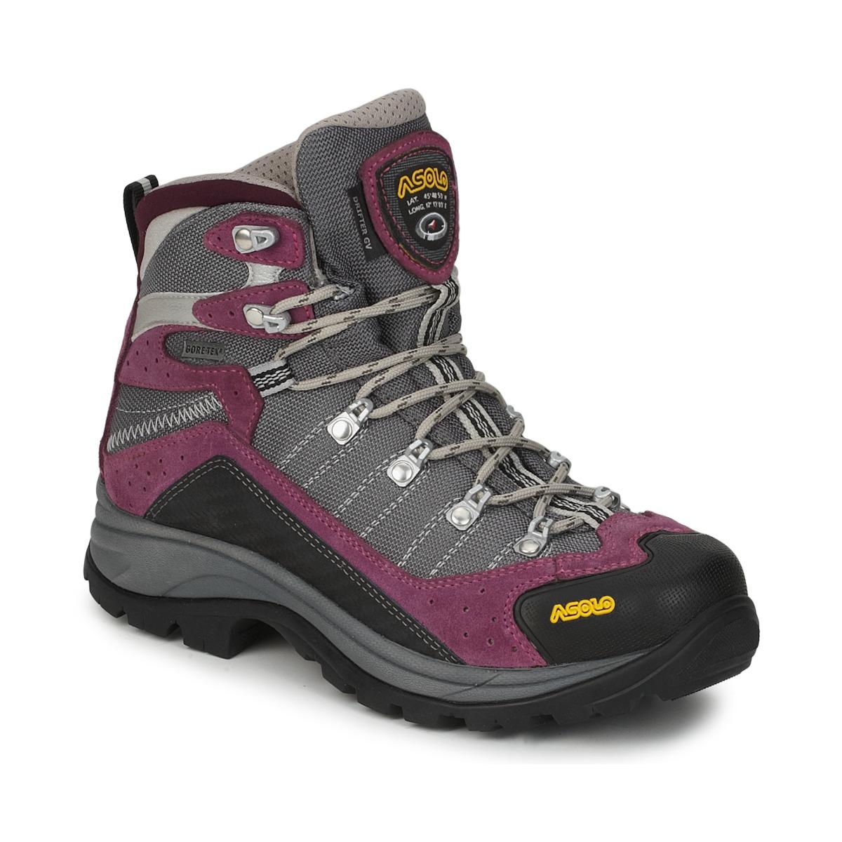 Chaussures-de-randonnee Asolo DRIFTER GV ML Gris / Violet