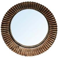 Maison & Déco Miroirs Chehoma Miroir sorcière convexe 23cm Doré