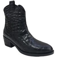 Chaussures Femme Bottines Coco & Abricot Dalou-V1835B Noir
