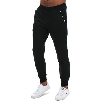 Vêtements Homme Pantalons de survêtement Lacoste Pantalon survêtement bande contraste Noir