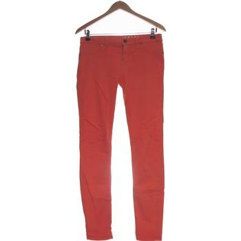 Vêtements Femme Chinos / Carrots Freesoul Pantalon Droit Femme  38 - T2 - M Orange