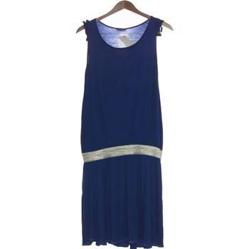 Vêtements Femme Robes courtes Dkny Robe Courte  38 - T2 - M Bleu