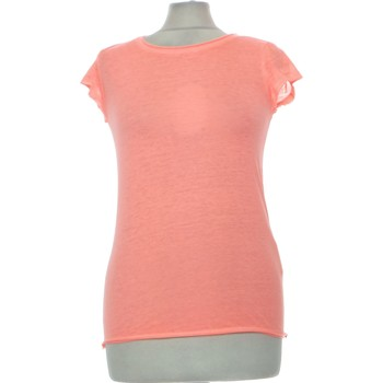 Vêtements Femme Tops / Blouses Creeks Top Manches Courtes  34 - T0 - Xs Orange