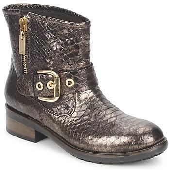 Chaussures Femme Boots Alberto Gozzi FAGGIO PITONE-METAL