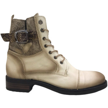 Chaussures Femme Bottines Coco & Abricot Calliope Offwhite