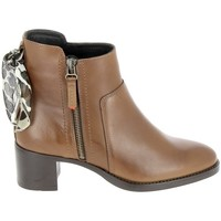 Chaussures Bottes Goodstep Boots Manas Cognac Marron