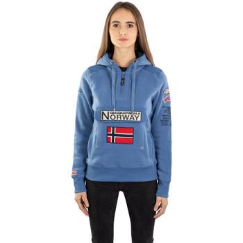 Vêtements Femme Sweats Geographical Norway Sweat  Gymclass Bleu