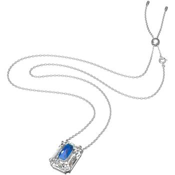 Montres & Bijoux Femme Colliers / Sautoirs Swarovski Collier  Chroma bleu Blanc