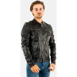 Vêtements Homme Vestes en cuir / synthétiques Daytona 101229 oliver black/black noir
