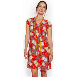 Vêtements Femme Robes courtes Haut Large Oasis Robe Kobo ROUGE
