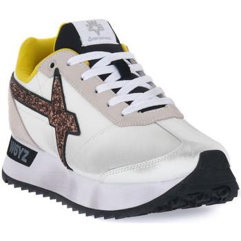 Chaussures Femme Baskets basses W6yz 0N01 KIS W Bianco