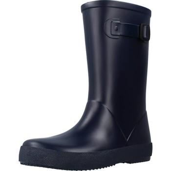 Chaussures Fille Bottes de pluie IGOR W10256 Bleu