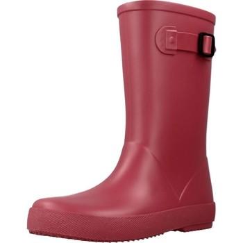 Chaussures Fille Bottes de pluie IGOR W10256 Rose