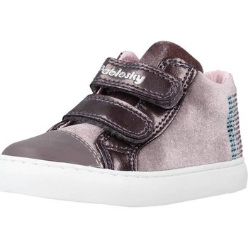 Chaussures Fille Baskets montantes Pablosky 965750 Rose