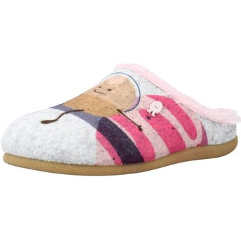 Chaussures Fille Chaussons Hot Potatoes 64640G Gris