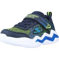 Chaussures Garçon Baskets basses Skechers ERUPTERS IV Bleu