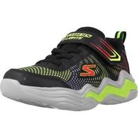Chaussures Garçon Baskets basses Skechers ERUPTERS IV Noir