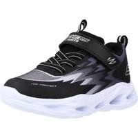 Chaussures Fille Baskets basses Skechers VORTEX-FLASH ZORENT Noir
