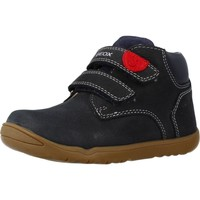 Chaussures Garçon Bottes Geox B MACCHIA BOY Bleu