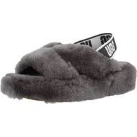 Chaussures Femme Chaussons UGG W FAB YEAH Gris