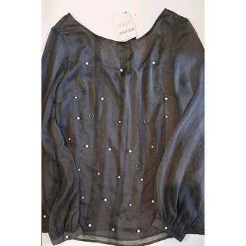Vêtements Femme Tops / Blouses Guess Blouse Guess neuve à perles taille XS/34 Gris