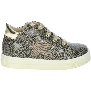 Chaussures Fille Baskets montantes Falcotto 0012015315.08.0Q06 Platine