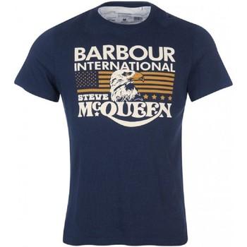 Vêtements Homme T-shirts manches courtes Barbour MTS0877 NY91 T-shirt homme Bleu
