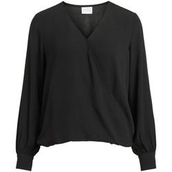 Vêtements Femme Tops / Blouses Vila 14063365 Noir