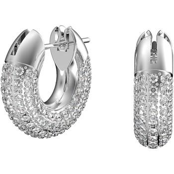 Montres & Bijoux Femme Boucles d'oreilles Swarovski Anneaux d'oreilles Dextera Blanc