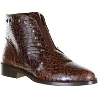 Chaussures Femme Bottines Maroli 7553 Camel