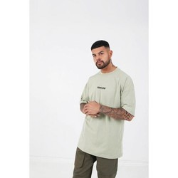 Vêtements Homme T-shirts manches courtes Sixth June T-shirt  Col-O Printed beige