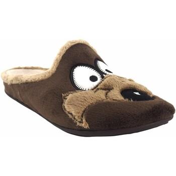 Chaussures Homme Chaussons Vulca Bicha Go home gentleman  4812 marron Marron