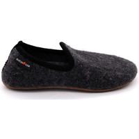 Chaussures Femme Chaussons Haflinger everest charlie Gris