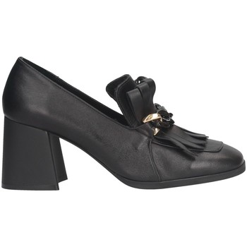 Chaussures Femme Mocassins Hersuade 4100 Mocasines Femme Noir