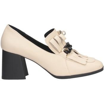 Chaussures Femme Mocassins Hersuade 4100 Mocasines Femme Beige