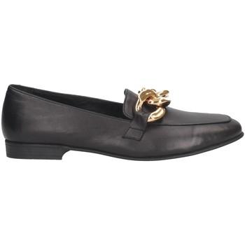 Chaussures Femme Mocassins Hersuade 5203 Mocasines Femme Noir