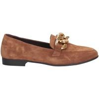 Chaussures Femme Mocassins Hersuade 5203 Mocasines Femme Marron
