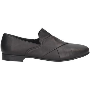 Chaussures Femme Mocassins Hersuade 5202 Mocasines Femme Noir