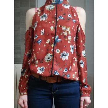 Vêtements Femme Tops / Blouses Morgan Haut épaule dénudée Rouge