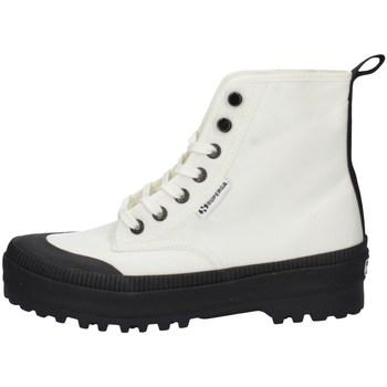 Chaussures Femme Baskets montantes Superga S4113DW-X1I Blanc