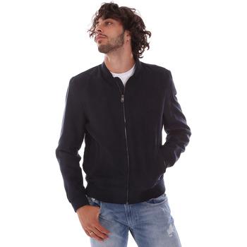 Vêtements Homme Vestes Henry Cotton's HMM0810003-S0418 Bleu