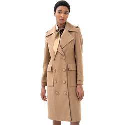 Vêtements Femme Manteaux Fracomina F321WC1006W50001 Beige