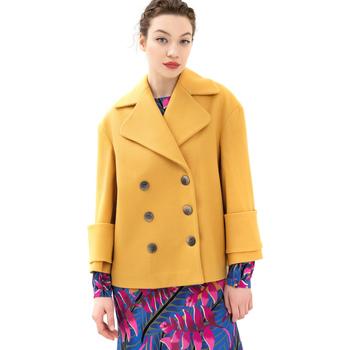Vêtements Femme Manteaux Fracomina FR21WC1013W49301 Jaune