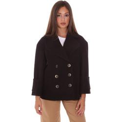 Vêtements Femme Manteaux Fracomina FR21WC1013W49301 Noir