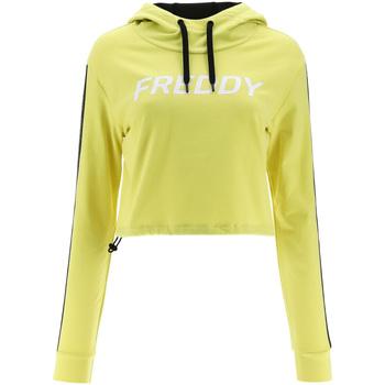 Vêtements Femme Sweats Freddy F1WFTS3 Jaune