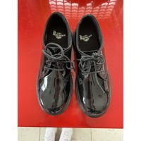 Chaussures Enfant Derbies Dr Martens Dr Martens 1461 Noires vernies Noir