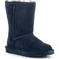 Chaussures Femme Bottes de neige Bearpaw Buty zimowe  Elle Short 1962W Navy granatowy