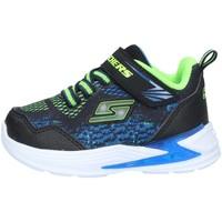 Chaussures Garçon Baskets basses Skechers 90563 BASKETS bébé Multicolore
