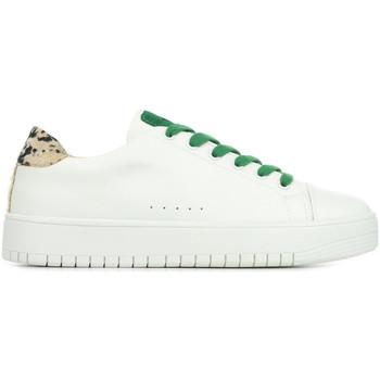 Chaussures Femme Baskets basses Vanessa Wu Leopard Lace blanc