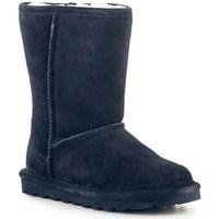 Chaussures Femme Bottes de neige Bearpaw Elle Short Bleu marine